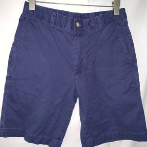 Men's vineyard vines navy twill shorts size 30
